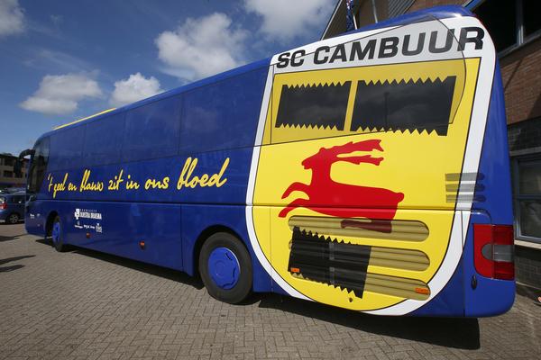 Sc Cambuur In Splinternieuwe Spelersbus Naar Uitwedstrijden Sc Cambuur