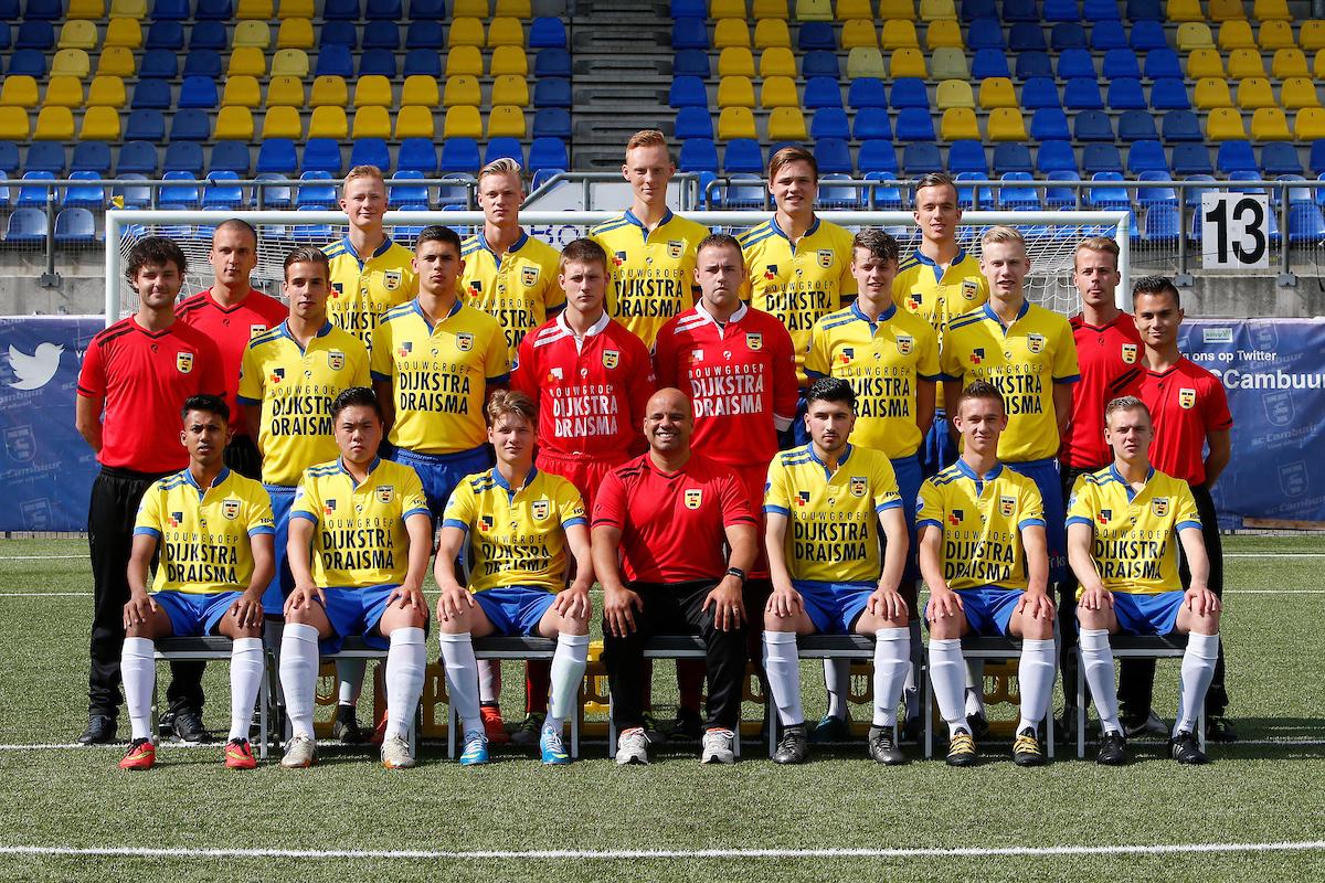 LEEUWAREN , 17-06-2016 , Cambuur Stadion , persdag jeugd SC Cambuur , seizoen 2016 - 2017 , teamfoto SC Cambuur onder 19 foto: Henk Jan Dijks