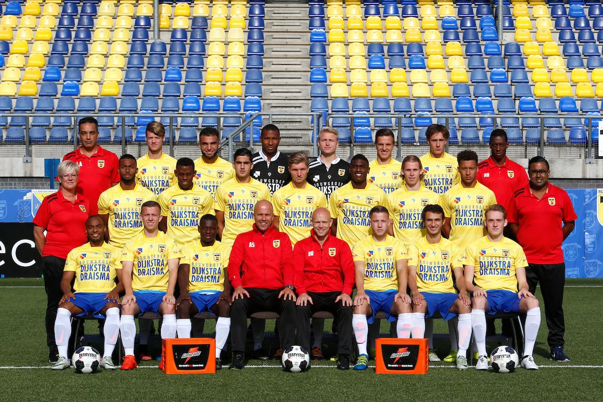 LEEUWARDEN , 10-10-2016 , seizoen 2016 - 2017 , Cambuur Stadion, persdag beloften SC Cambuur , teamfoto beloften SC Cambuur foto: Henk Jan Dijks