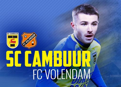 Matchday Sc Cambuur Fc Volendam Sc Cambuur